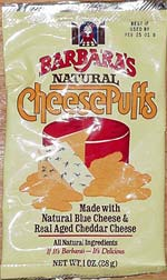 Barbara's Natural Cheese Puffs