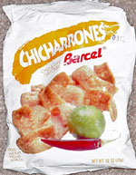 Barcel Chicharrones Chili & Lime Flavored Fried Wheat Flour Snack