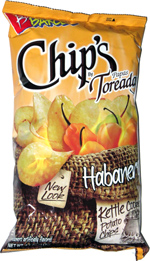 Barcel Chip's Papas Toreadas Habanero