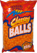 Barrel o' Fun Cheesey Balls