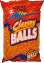 Barrel o' Fun Cheesey Balls