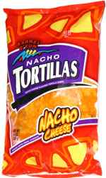 Barrel o' Fun Nacho Tortillas Nacho Cheese