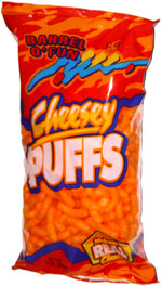 Barrel o' Fun Cheesey Puffs