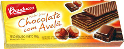 Bauducco Wafer Sabor Chocolate com Avela