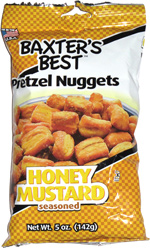 Baxter's Best Pretzel Nuggets Honey Mustard