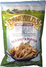 Beanfields Crispylicious! Bean & Rice Chips Sea Salt & Pepper