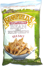 Beanfields Crispylicious! Bean & Rice Chips Sea Salt