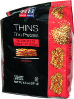 Beigel & Beigel Thins Sesame Seeds