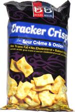 Beigel & Beigel Cracker Crisps Sour Crème & Onion