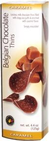 Belgian Chocolate Thins Caramel