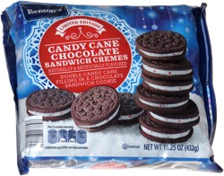 Benton's Candy Cane Chocolate Sandwich Cremes