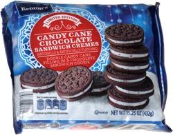 Benton's Candy Cane Chocolate Sandwich Cremes