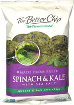 The Better Chip Spinach & Kale with Sea Salt