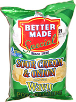 Better Made Sour Cream & Onion Wavy Potato Chips