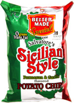 Better Made Salvatore's Sicilian Style Parmesan & Garlic Potato Chips