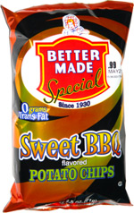Better Made Special Sweet BBQ Potato Chips