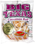 Big Texas Cinnamon Roll