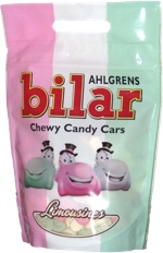 Ahlgrens Bilar Chewy Candy Cars Limousines