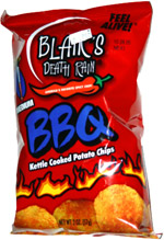 Blair's Death Rain Medium BBQ Kettle Cooked Potato Chips