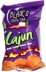 Blair's Death Rain Hot Cajun Kettle Cooked Potato Chips