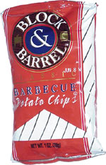 Block & Barrel Barbecue Potato Chips