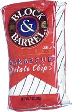 Block & Barrel Barbecue Potato Chips