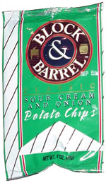 Block & Barrel Classic Sour Cream & Onion Potato Chips