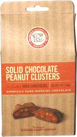 Solid Chocolate Peanut Clusters