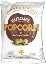 Bloom's Popcorn Sesame & Sea Salt