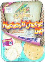 Blue Luna Nachos 'n' Cheese Dip Combo Snack Tray