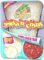 Blue Luna Cafe Salsa 'n' Chips Combo Snack Tray