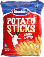 Bluebird Potato Sticks Ready Salted