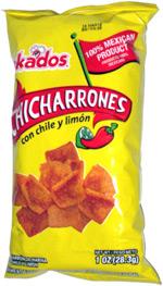 Bokados Chicharrones Con Chile y Limón
