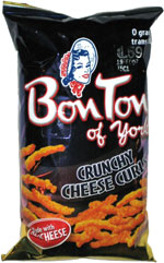 Bon Ton of York Crunchy Cheese Curls