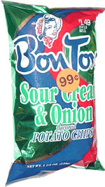 Bon Ton Sour Cream & Onion Flavored Potato Chips