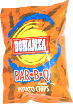 Bonanza Bar-B-Q Potato Chips
