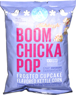 Boom Chicka Pop Holidrizzle Frosted Cupcake Flavored Kettle Corn