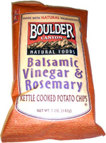 Boulder Canyon Balsamic Vinegar & Rosemary Kettle Cooked Potato Chips