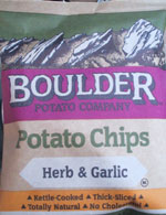 Boulder Herb & Garlic Potato Chips