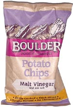 Boulder Malt Vinegar and Sea Salt Potato Chips