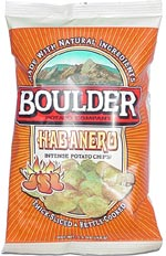 Boulder Potato Company Habanero Intense Potato Chips!