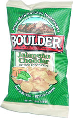 Boulder Potato Company Jalapeño Cheddar Intense Potato Chips!