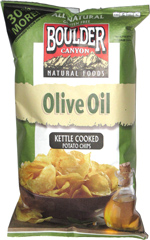 Boulder Canyon Natural Foods Olive Oil Kettle Cooked Potato Chips