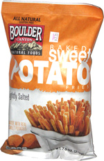 Boulder Canyon Natural Foods Baked Sweet Potato Fries Lightly Salted