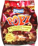Brach's Popz Milk Chocolate Covered Caramel Popcorn
