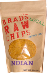 Brad's Raw Chips Indian