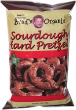 Brad's Organic Sourdough Hard Pretzels