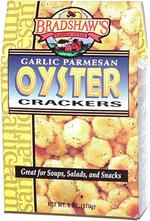 Bradshaw's Garlic Parmesan Oyster Crackers