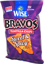Bravos Tortilla Chips Sweet & Spicy