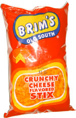 Brim's Old South Crunchy Cheese Flavored Sticks